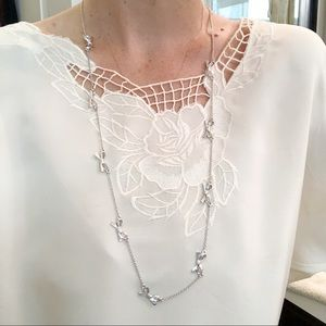 Kate Spade bow layering necklace